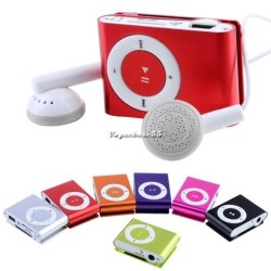 Mini Mp3 player portabil digital cu USB casti si suport sd card 8GB