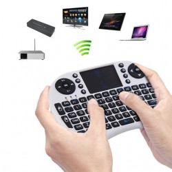 Telecomanda wireless cu tastatura mouse acumulator 2.4Ghz