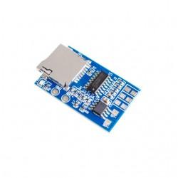 Modul decodor MP3 mono cu sd card si amplificare 2W 3.7-5V