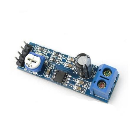 Modul audio amplificare LM386 5V-12V 10K reglabil