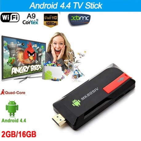 Mini PC Stick TV box MK809IV RK3188T Quad Core 1.6 GHz 2GB RAM 8GB Android 4.4 XBMC Wifi HDMI Bluetooth