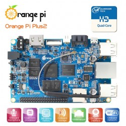 Orange Pi Plus 2E H3 Quad Core 1.6GHZ 2GB RAM 16GB Flash WIFI HDMI