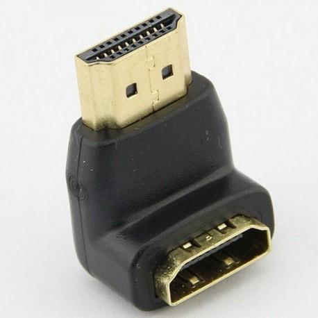 Conector HDMI 90 grade mama tata