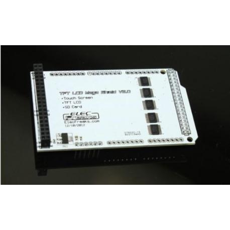 "Shield pentru ecrane LCD TFT 2.4"" 3.2'' 4.3"" arduino mega"