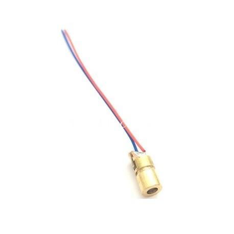 Modul laser 650nm 5mW rosu cu lentila