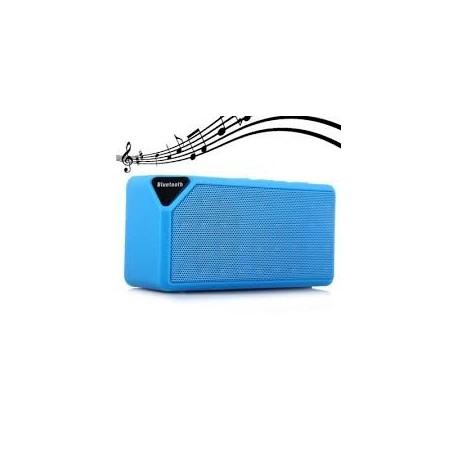 Boxa CUBE X3 V2.1 USB activa cu wireless bluetooth sd card radio acumulator