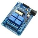 Modul placa expansiune 4 relee cu slot Xbee pentru arduino