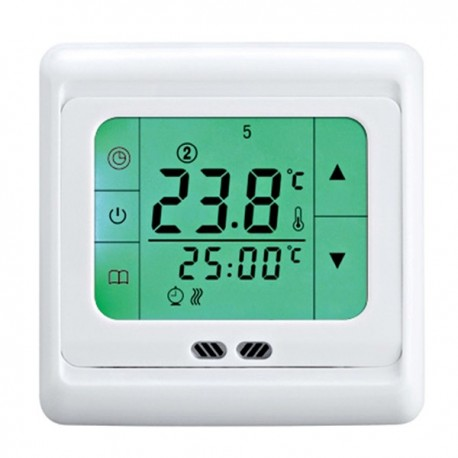 Intrerupator cu termostat programabil si ecran LCD 220V