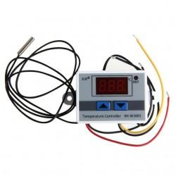 Termostat digital cu afisaj LED 220V cu senzor temperatura