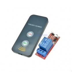 Kit 1 releu 5V 220v cu telecomanda infrarosu IR