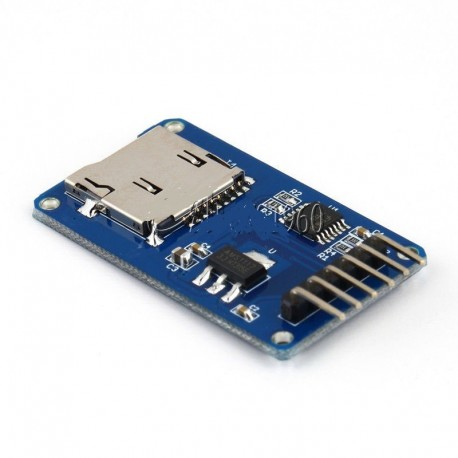 Shield pentru carduri micro sd compatibil arduino avr pic stm