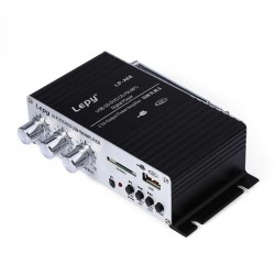 Statie amplificator auto cu telecomanda Lepy LP-A68 15W RMS cu radio FM SD USB MP3 USB