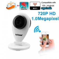 Camera SRICAM IP WIFI 720P H.264 ONVIF interior