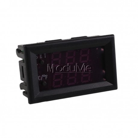 Termostat digital cu afisaj digital 12v -50-110 Celsius cu senzor temperatura