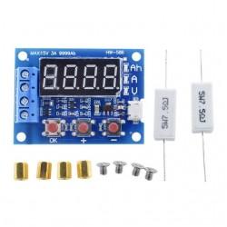 Tester acumulatori si baterii 1.2v 12v 18650 LiPo LiIo NiMH Nicd cu digiti si rezistente