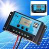 Regulator controler panouri solare cu afisaj LCD 2 porturi usb 20A 12V/24V