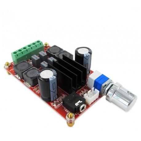 Modul amplificare clasa 2x50W TPA3116D2 DC24V XH-M189 cu potentiometru