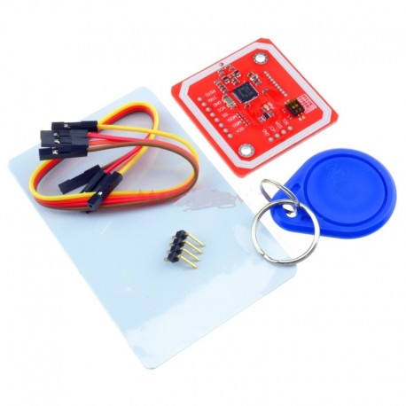 Cititor si scriitor carduri RFID NFC PN532 I2C SPI ISO 14443