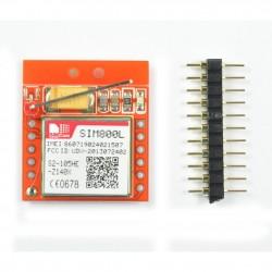 Modul GSM SIM800L QUAD BAND GPRS PCB rosu