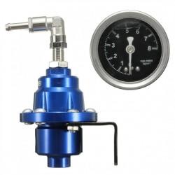 Regulator presiune benzina din aluminiu cu ceas