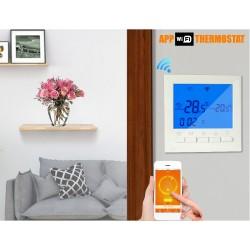 Intrerupator cu termostat WIFI programabil ecran LCD 220V