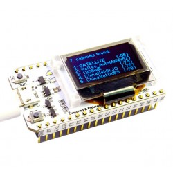 Placa dezvoltare ESP32 Bluetooth WIFI cu display oled 0.96 inch CP2102 32M Flash 3.3V-7V