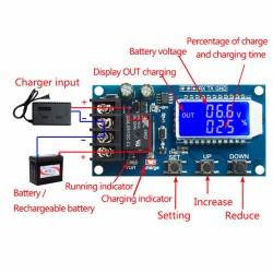Modul incarcare acumulatori 10A 6-60V cu autoprotectie si ecran afisaj OLED