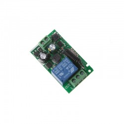 Modul 1 releu cu invatare telecomanda AC 85v - 220v 433 mhz