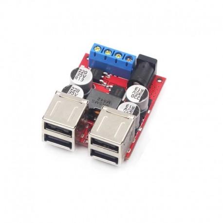 Sursa incacator 8V-35V 5V 8A 4 porturi USB