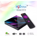 Android 9.0 TV BOX player H96 MAX RK3318 4GB RAM 64GB ROM 5G WIFI bluetooth 4.0 4K VP9 H.265