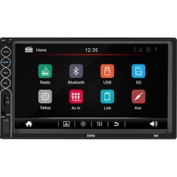 Mp3 MP5 2 DIN Player cu ecran 7 Inch Bluetooth Stereo Radio Touch Screen HD
