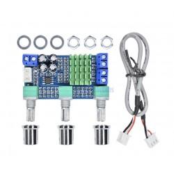 Modul amplificare clasa 2x80W TPA3116D2 DC12-24V