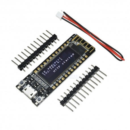 NodeMcu Lua wireless V3 ESP8266 ESP-12E cu ecran OLED