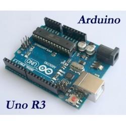 Arduino UNO R3 cu ATMega16U2 si cablu USB